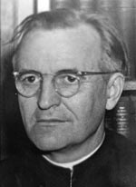 Image result for Photo of Fr.Leonard Feeney of Boston